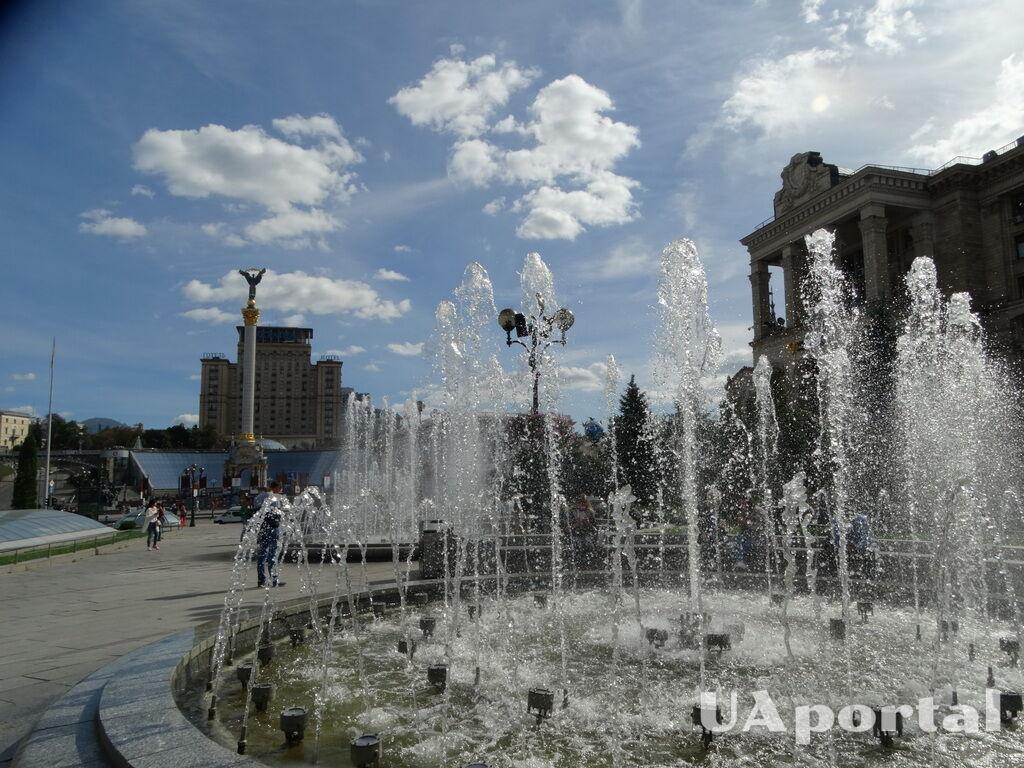 Фонтаны на Майдане