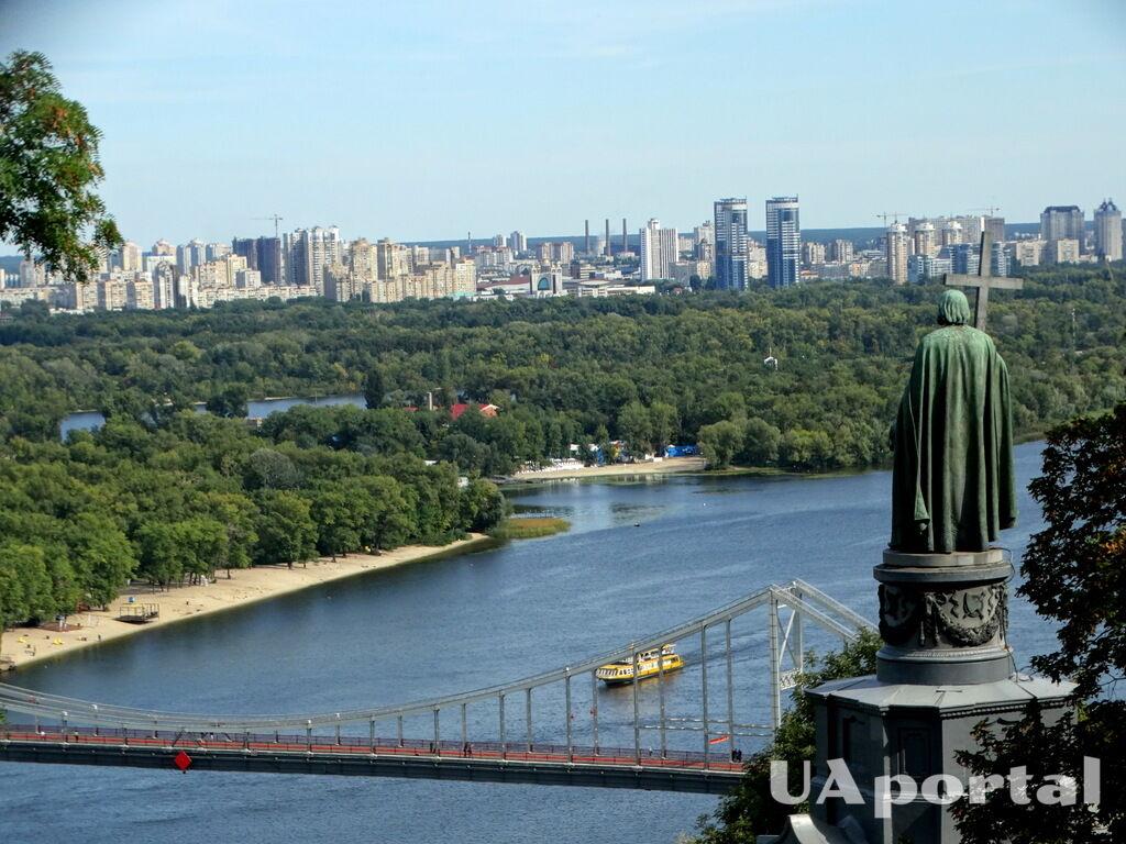 Памятник киевскому князю Владимиру Великому