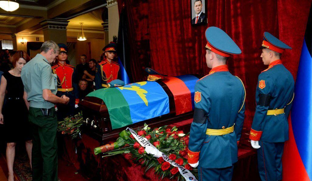 Похорон Захарченка в Донецьку: нові фото і відео