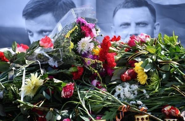 У Донецьку прощаються з ватажком ДНР Захарченком: фото і відео