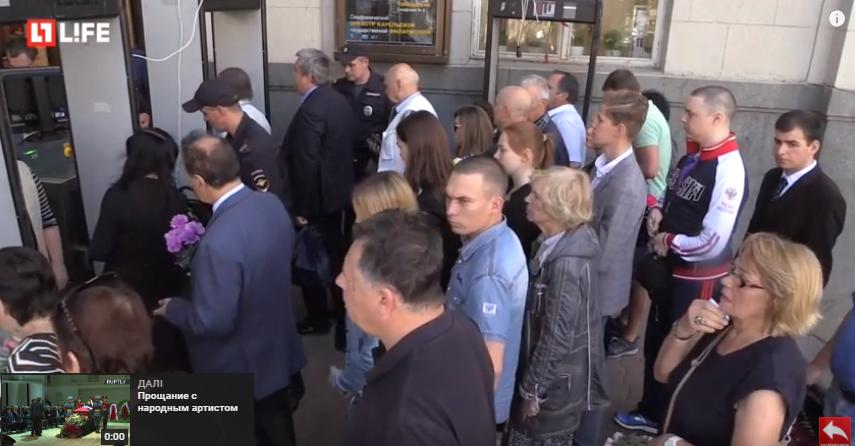 Прощання з Кобзоном в Москві: з'явилися перші фото