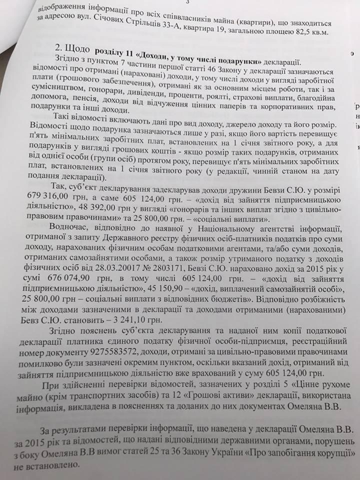 Переписка Омеляна: что показало НАБУ