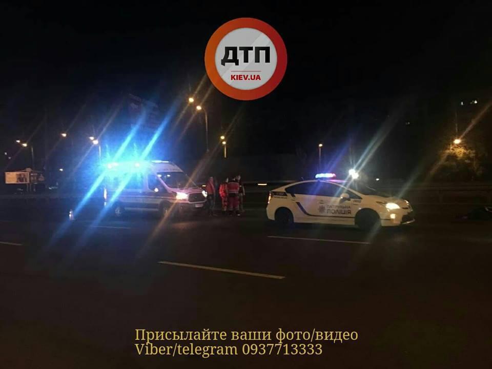 Пешехода разорвало на части: на Окружной в Киеве произошло жуткое ДТП