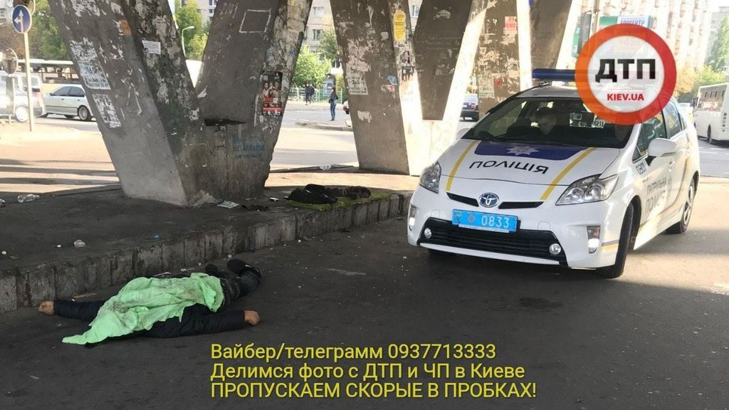 """В Киеве произошла резонансная смерть """"от холода"""": фото с места"""