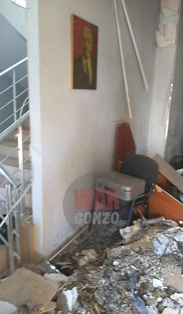 Взрыв во время съезда в Донецке: что известно, первые фото
