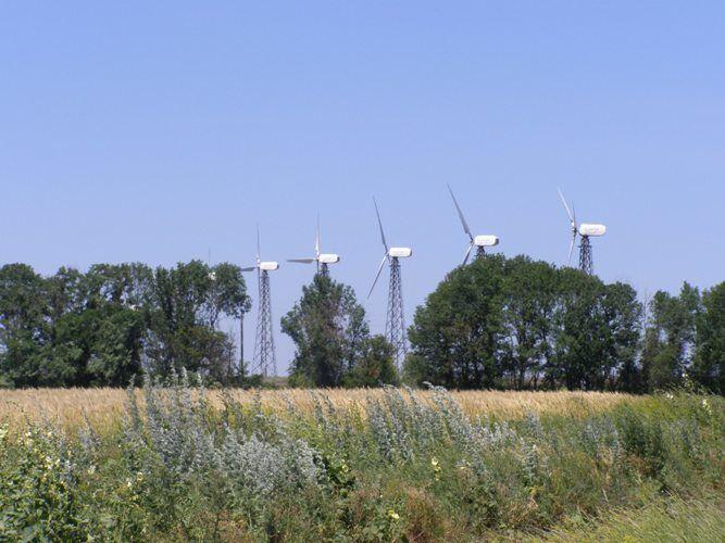 Новоазовская ветровая электростанция