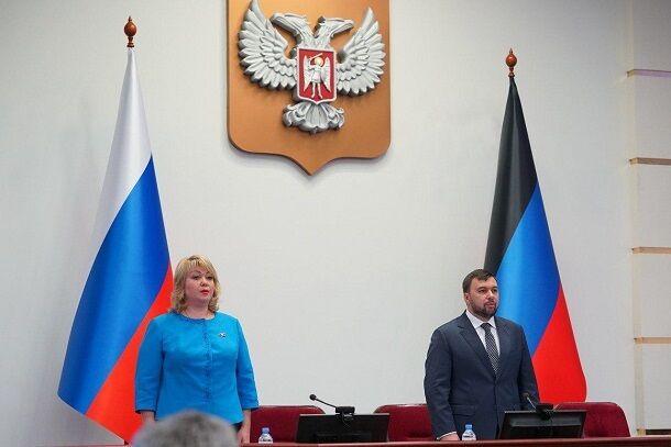 Боевики ДНР выбрали Дениса Пушилина своим новым главарем: фото