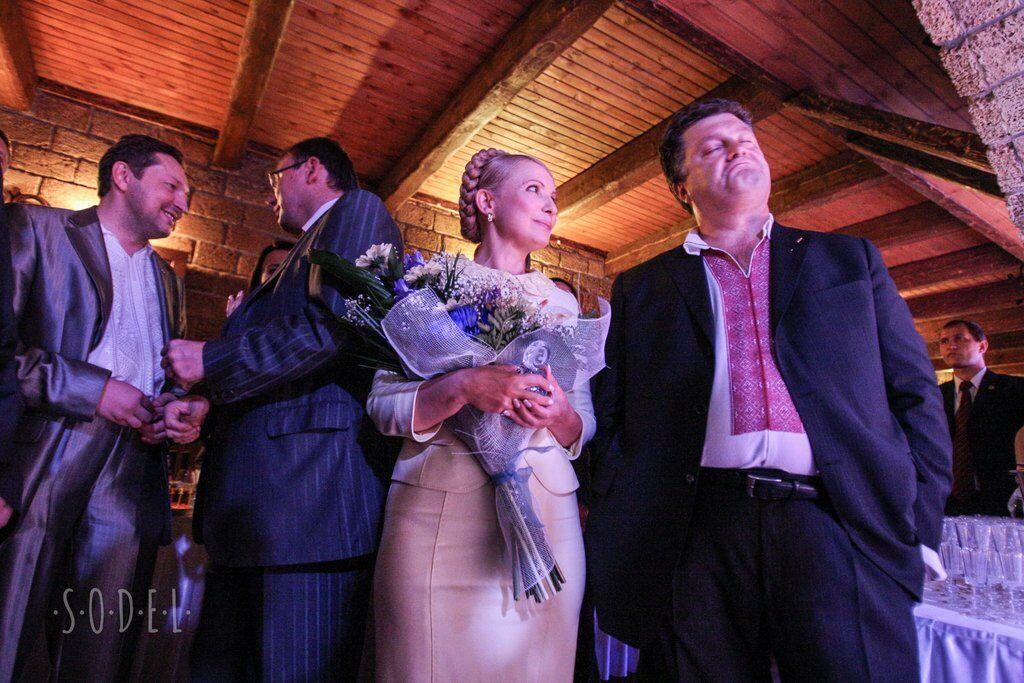 Порошенко и Тимошенко. 05.09.2008