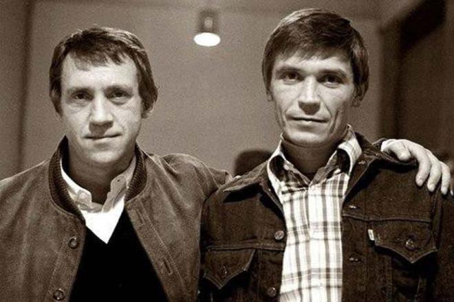 Володимир Висоцький і Іван Бортник