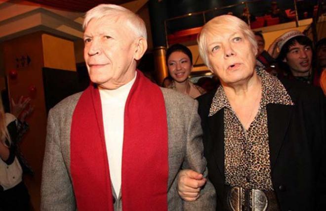 Іван Бортник з дружиною Тетяною