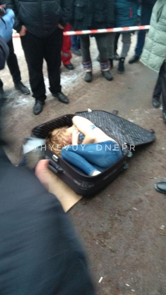 У Дніпрі знайшли труп дівчини в валізі: фото і перші дані вганяють у ступор