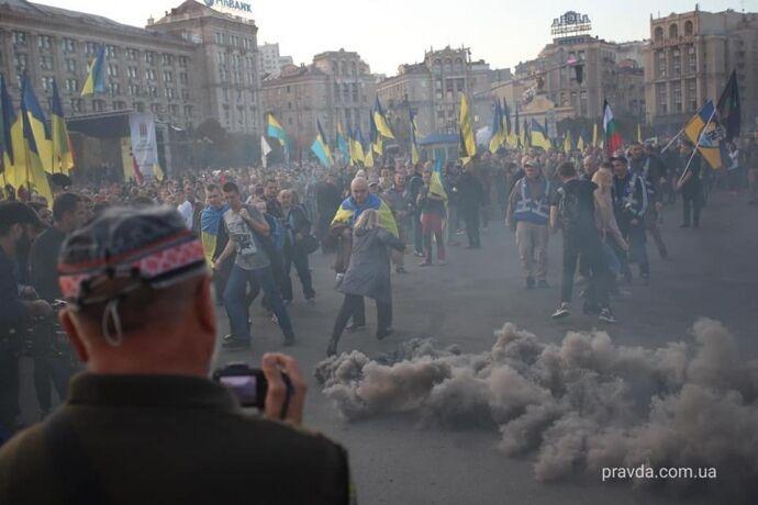 """""""Зелю геть!"""" Чого вимагають протестувальники на Майдані, відео"""