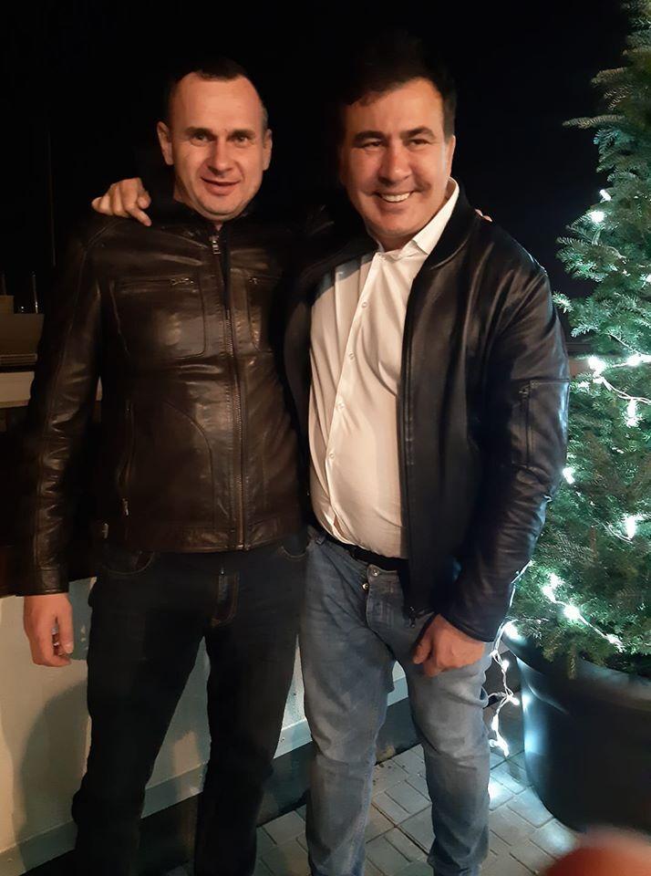 Сенцов и Саакашвили