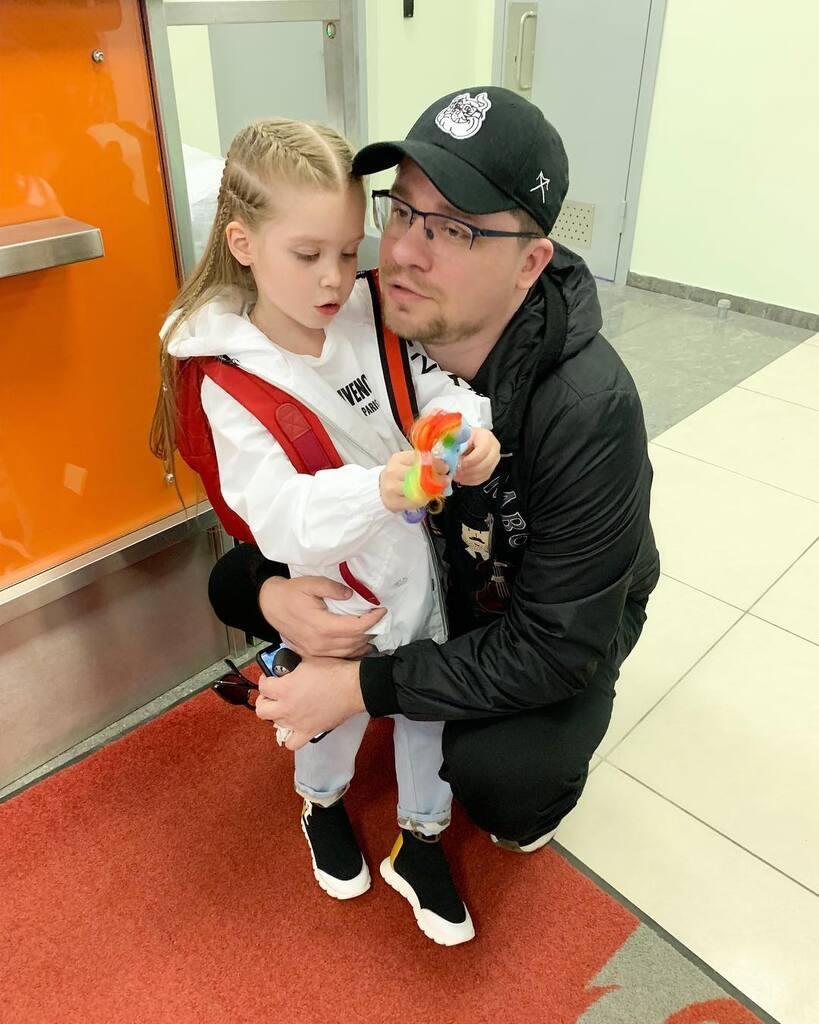 Гарік Харламов з дочкою Анастасією