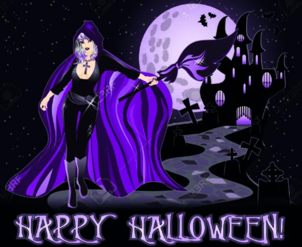 Сексуальные картинки и открытки для поздравления на Хэллоуин