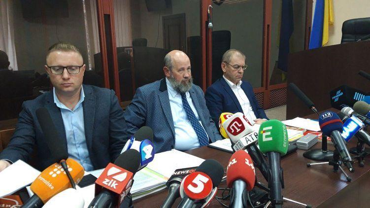 Сергей Пашинский на суде
