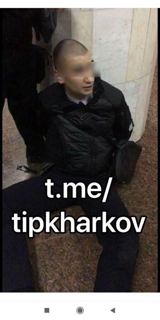 Хто стріляв у метро Харкова, фото