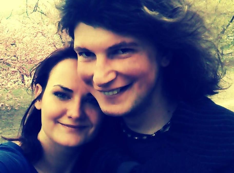 Костянтин Батигін з дружиною в молодості