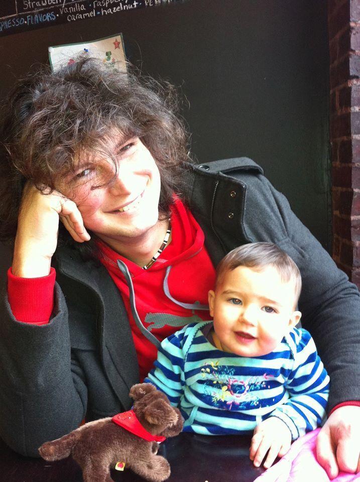 Константин Батыгин с дочкой