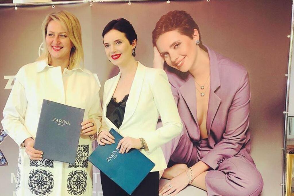 Яніна Соколова зняла нижню білизну для зйомок в рекламі, фото