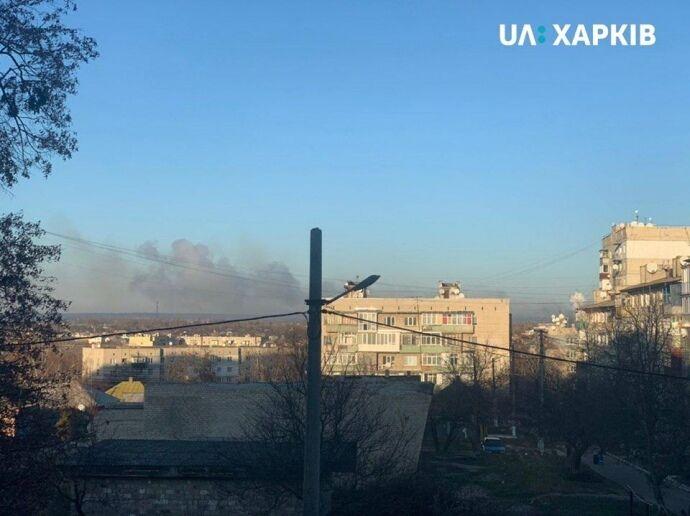 Балаклея снова в огне: взрывы на фото и видео, все последние новости