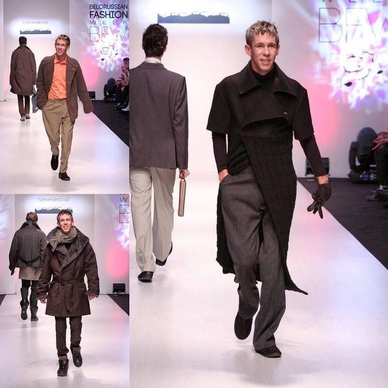 Олексій Панін на модному показі