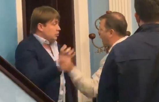 Ляшко і Герус жорстко побилися, яскраве відео опублікувала Крюкова
