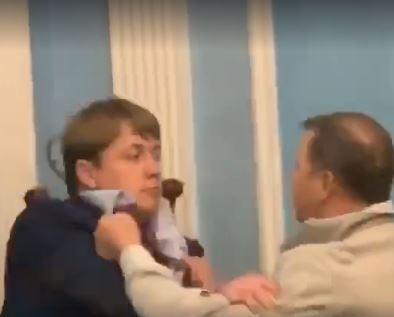 Ляшко и Герус жестко подрались, яркое видео опубликовала Крюкова