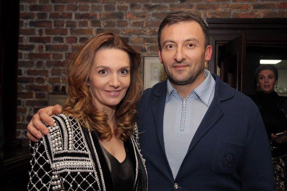 В'ячеслав Соболєв з дружиною Інною