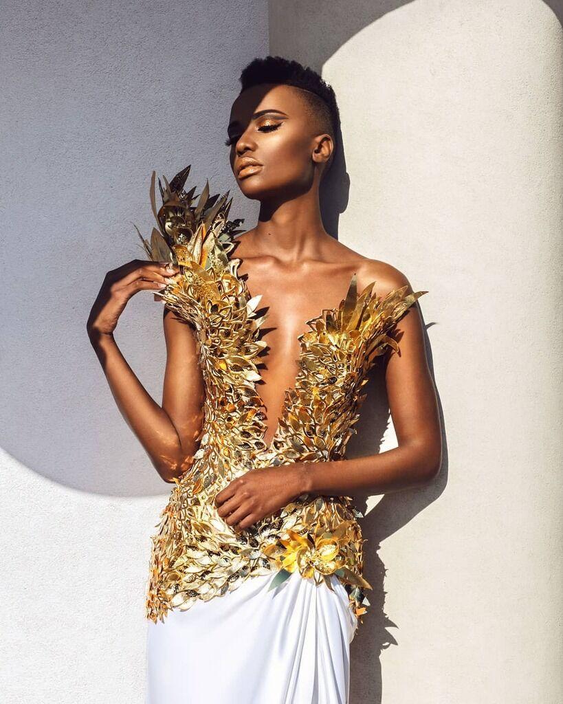 """Кто такая Зозибини Тунзи, африканская """"Мисс Вселенная"""" на фото и видео"""