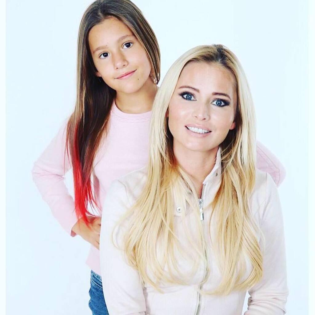 Дана Борисова и ее дочь Полина Аксенова