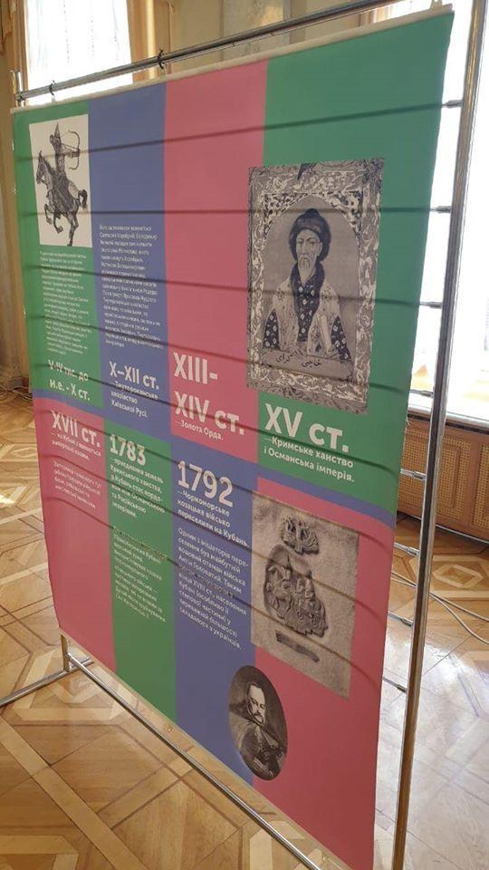 Выставка об украинской истории Кубани