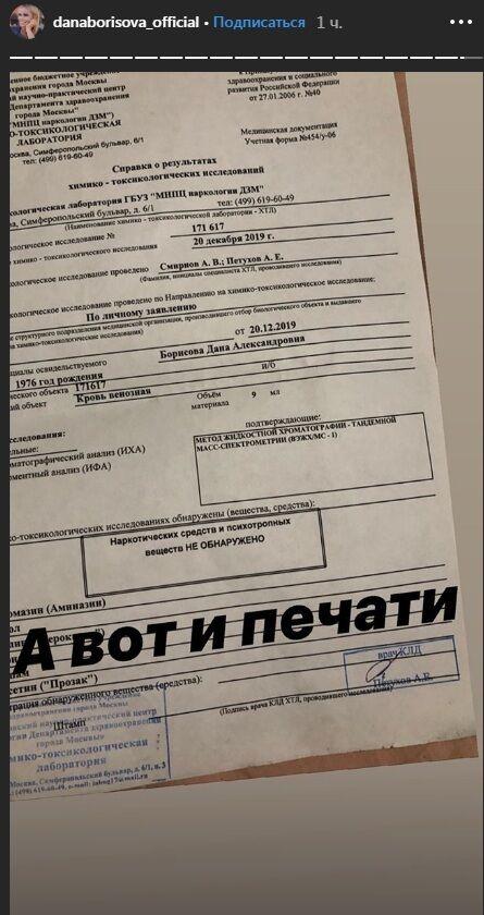 Дана Борисова після шоку зі звинуваченнями зробила зізнання щодо наркозалежності, фото