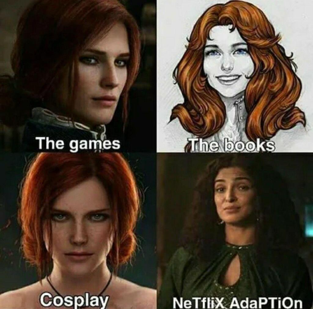Мем про Трисс Меригольд