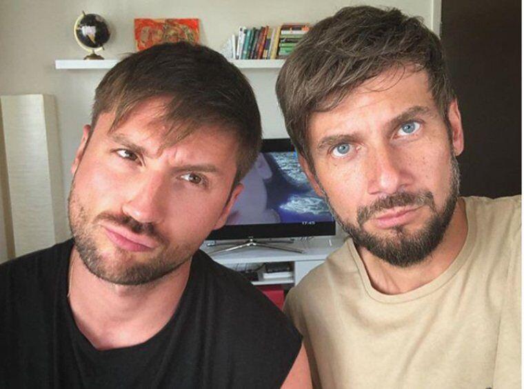 Сергій Лазарєв і Андрій Разиграєв