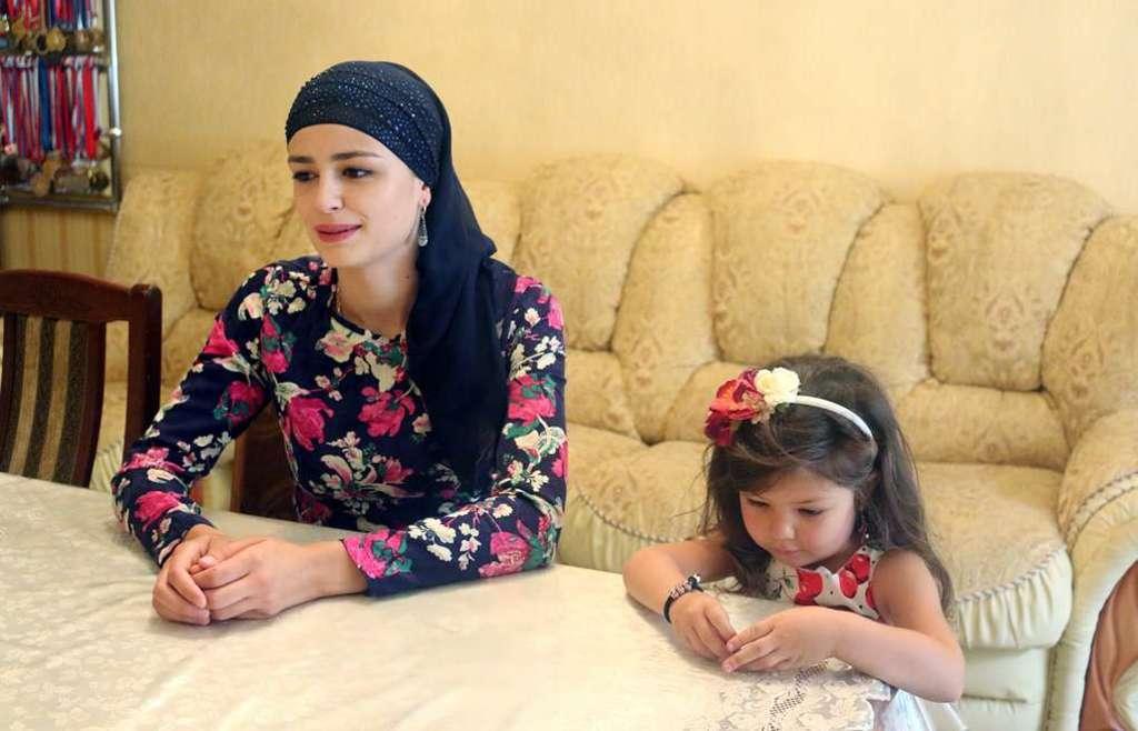 Диана Мудранова с дочкой Самирой