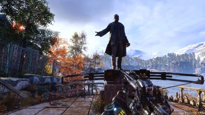 """Статуя Ленина в """"Metro: Exodus"""""""