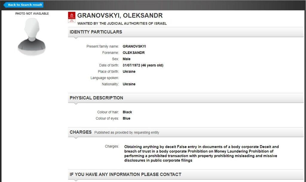Олександр Грановський потрапив в розшук: хто він і через що скандал