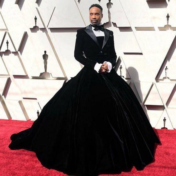 Біллі Портер: чому він прийшов на Оскар-2019 у сукні та хто такий Адам Сміт, фото