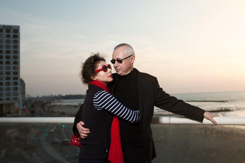 Божена Ринська і Ігор Малашенко