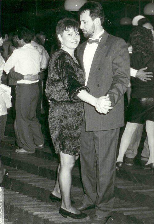 Дмитрий Фирташ и Марина Калиновская, начало 1990-х