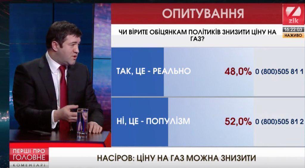 Правительству выгодно повышать цену на газ – Насиров