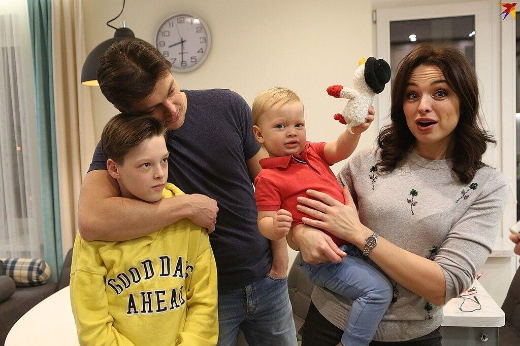 Маруся Грицук: фото всех ее детей поражает воображение