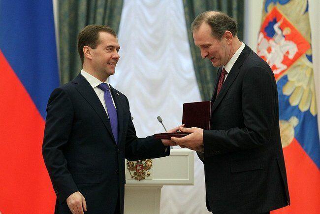 Дмитрий Медведев и Федор Добронравов