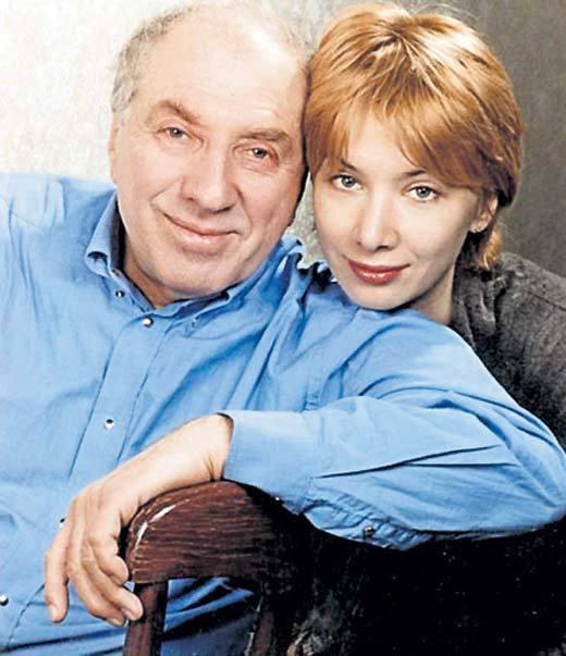 Сергій Юрський і Дарія Юрська