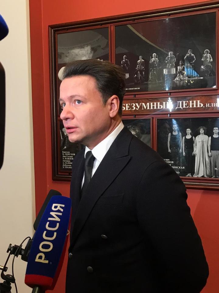 Похороны Владимира Этуша: первые фото
