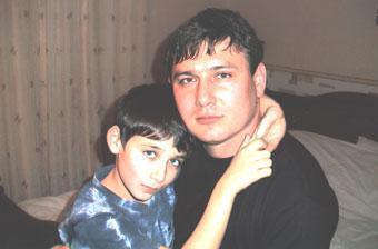 Сергей Паращенко с сыном