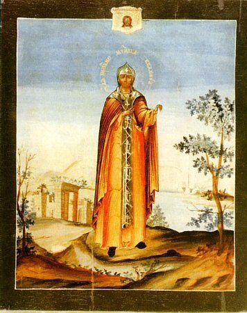Євдокія. Ікона XIX ст.