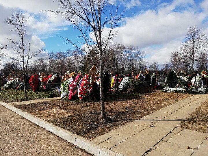 Похорон Началової: з'явилося перше фото з місця