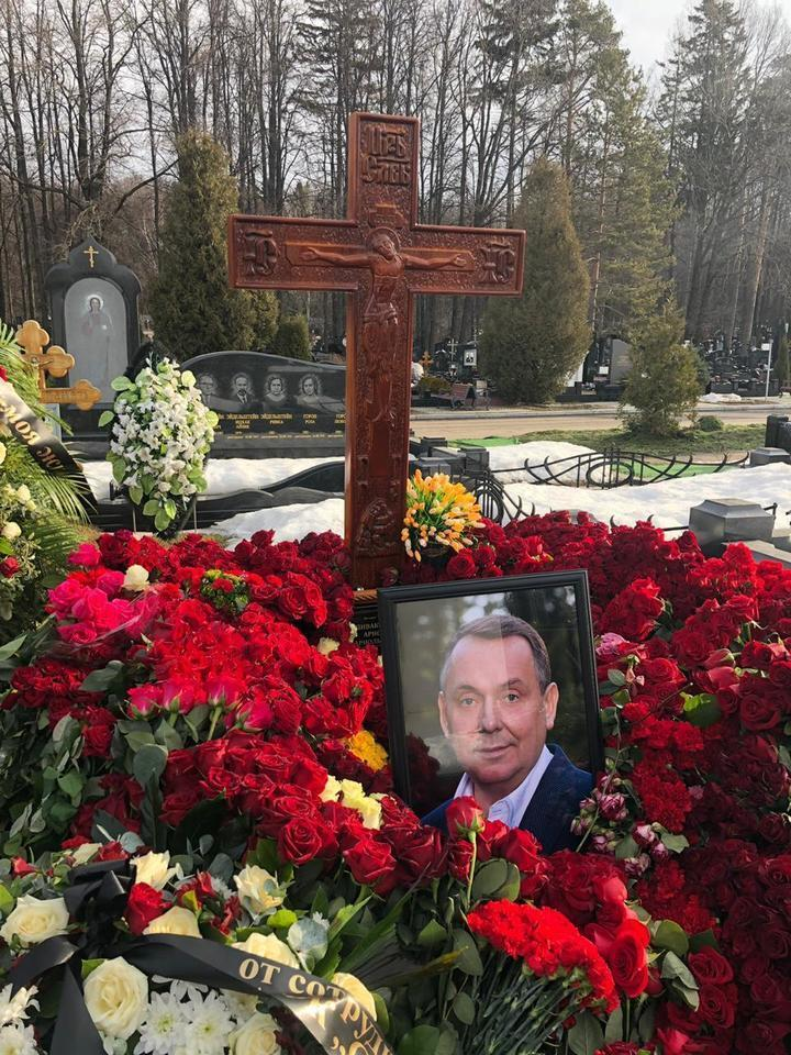 Могила Арнольда Спиваковского